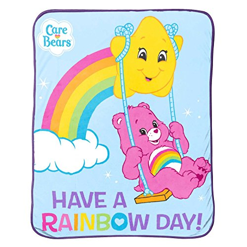 Care Bears Rainbow Day Plush Throw
