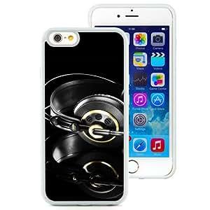 Studio Headphones Black Gold (2) Durable High Quality iPhone 6 4.7 Inch TPU Case