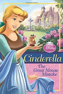 Disney Princess Cinderella The Great Mouse Mistake Chapter Book Series