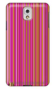 Online Designs Rose Red Stripe PC Hard new fashion galaxy note 3 Shell