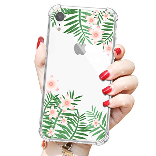 Compatible to iPhone XR Shell, Beautiful Image attracts People's Attention, Four-Side Wrapping Protects from Falling, Provides 360° All-Round Protection(Green)