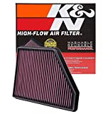2012 camaro air - K&N 33-2434 High Performance Replacement Air Filter