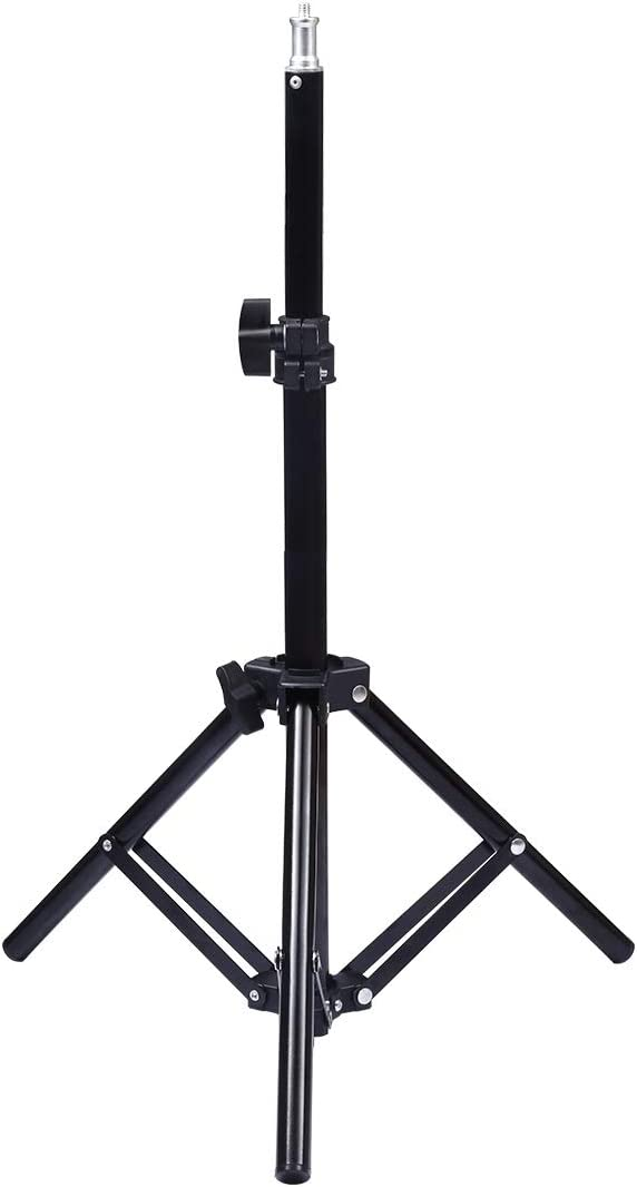 LAILINSHENG Camera monopods 1.6m Height Tripod Mount Holder for Vlogging Video Light Live Broadcast Kits