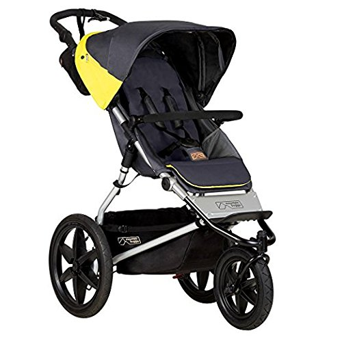 Reversible Single Stroller Liner - Mountain Buggy Terrain Premium Jogging Stroller, Solus