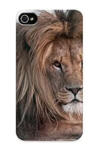 Cute High Quality Iphone 4/4s Animals Majestic Lions Case Provided By Inthebeauty