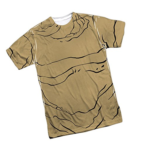 Pack Clayface - Clayface -- Batman Animated Series Front/Back Print Sports Fabric Youth T-Shirt, Youth X-Large (16/18)