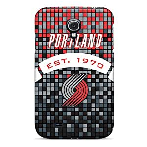 Galaxy S4 Cover Case - Eco-friendly Packaging(portland Trail Blazers)