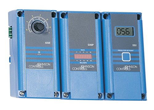 Johnson Controls A350PS-2C A350P Series Proportional Plus Integral Temperature Control with A99Bc-25C Temperature Sensor, 90 to 250 Degree F Temperature Range, 2 to 30 F Degree Throttling Range (25c Series)