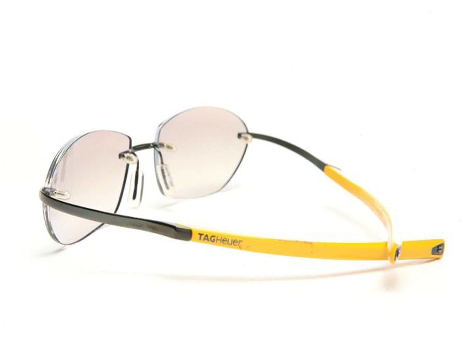 Tag Heuer Eyeglasses ELEMENT Limited Edition 0303 (gunmetal yellow / light tinted UV gradient lens, one size)