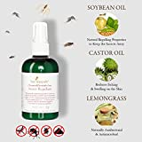 Natural Mosquito Repellent - All Deet, Chemical & Pesticide Free - Insect & Bug Repelling Ingredients - Small Batch Formulation For Freshness - Earth Friendly - Helps Chase Away Mosquitos - Safe for Children and Pets - No Harmful Pesticides - Spray Repels Ticks, Fleas and Other Bugs - 4 Fl Oz