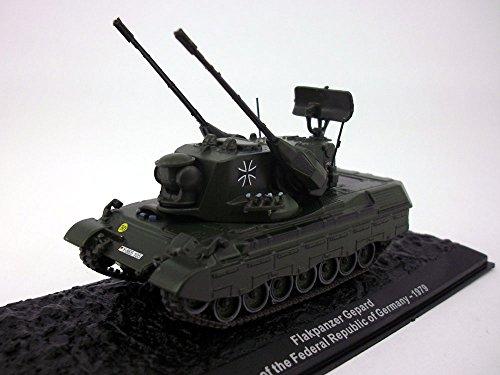 """Flakpanzer Gepard """"Cheetah anti-aircraft cannon tank"""" 1/72 S"""