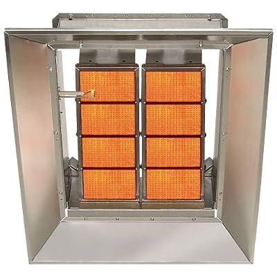 SunStar Heating Products Infrared Ceramic Heater - NG, 80,000 BTU, Model# SG8-N