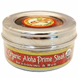 Organic Aloha Prime Steak Seasoning & Rub (2 Pack)