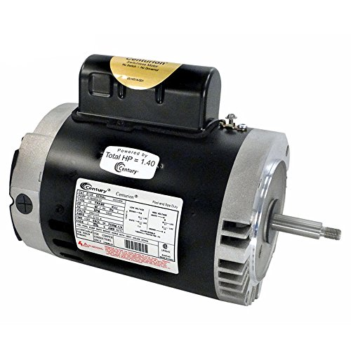 A.O. Smith B128 1 HP, 3450 RPM, 1 Speed, 230/115 Volts, 7.2/14.4 Amps, 1.4 Service Factor, 56J Frame, PSC, ODP Enclosure, C-Face Pool Motor