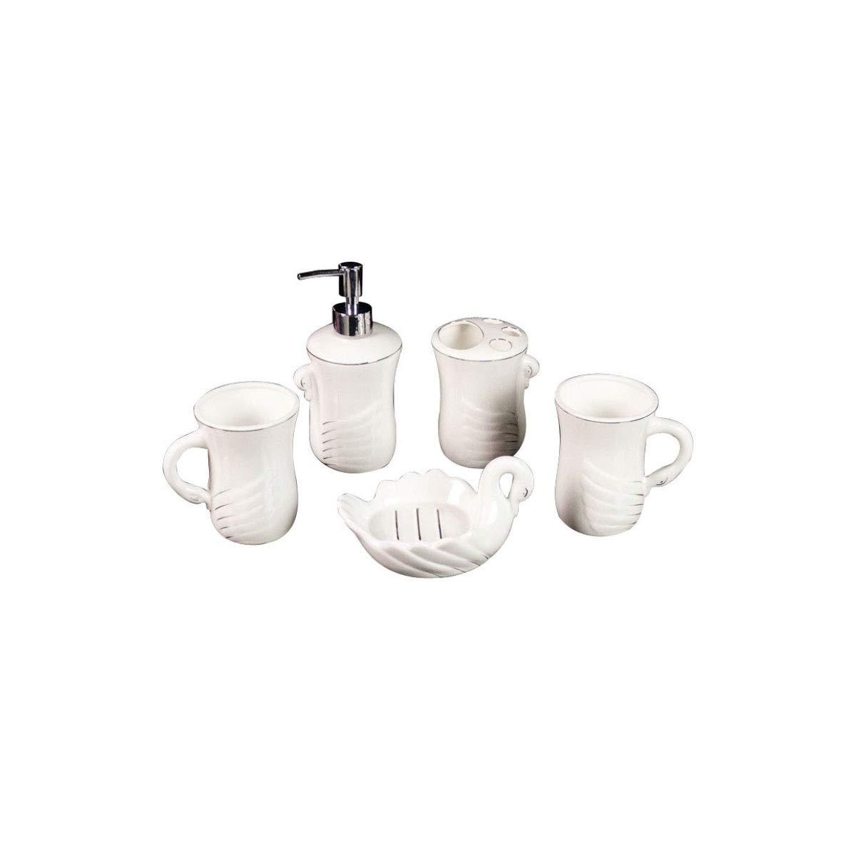 Kehuiying Sencillos artículos de tocador para el baño de cerámica ...