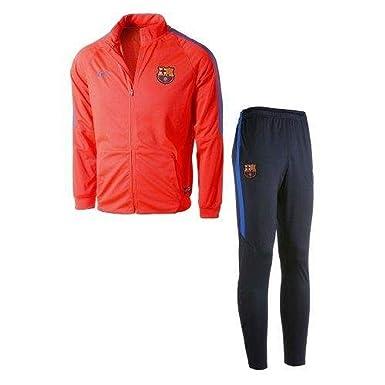 Nike FCB Y NK Dry TRK Suit SQD K Chándal FC Barcelona, Hombre ...