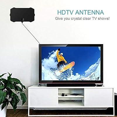 jfhrfged - Antena de televisión Digital HD HDTV 1080P (Cable Celular, 4 K, Antena Interior): Amazon.es: Deportes y aire libre