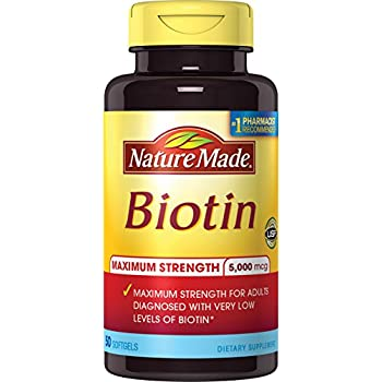 Nature Made Biotin  Mcg Hair Growth