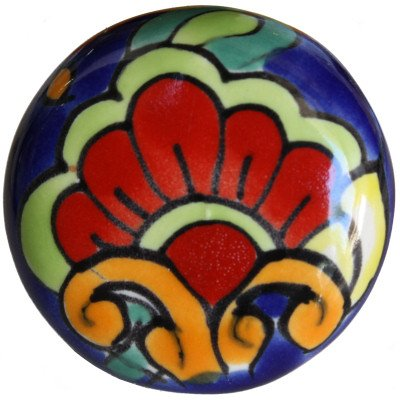 mexican ceramic knobs - 6