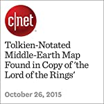 Tolkien-Notated Middle-Earth Map Found in Copy of 'the Lord of the Rings' | Amanda Kooser