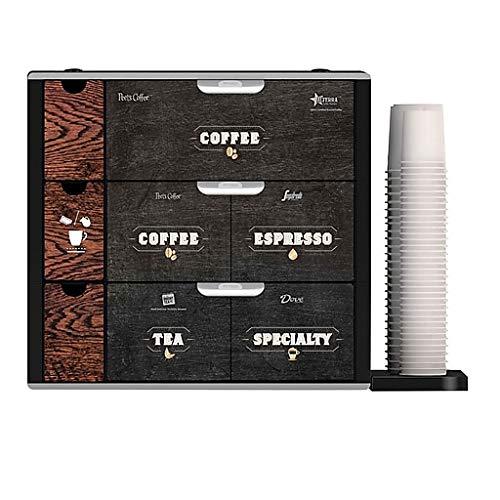 FLAVIA Plastic Coffee Drawer for Freshpacks, Black (MDR12422)