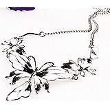 290# - 4 New Arrival Women Jewelry Pendant Choker Chunky Statement Chain Bib Necklace