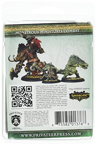 Privateer Press - Hordes - Minion: Jage-Jage The Death Charmer Model Kit 4