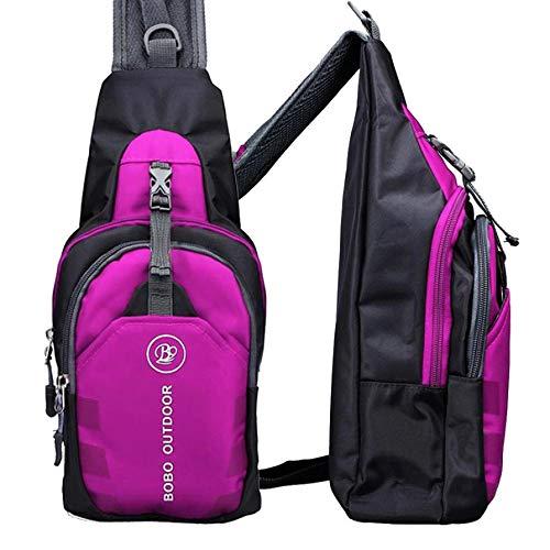 Mens Bag Handbag Polyester Chest Back Pack Crossbody Shoulder Soft Men Diagonal Package Rucksacks 2018 New