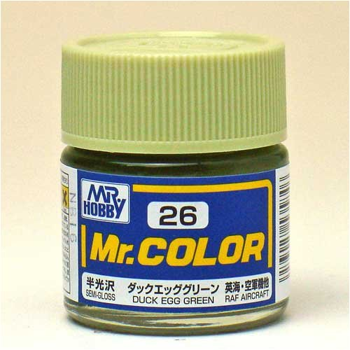 Mr.カラー C26 ダックエッググリーン