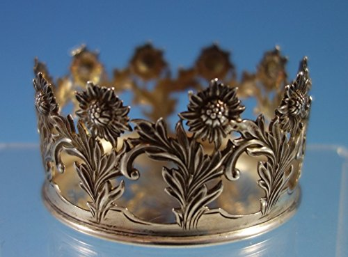 Chrysanthemum by Tiffany & Co. Sterling Silver Base for Vase or Cup (#2133) Sterling Silver Vase