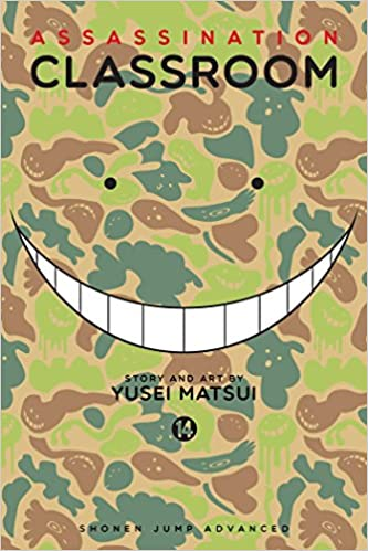 Image result for assassination classroom volume 14