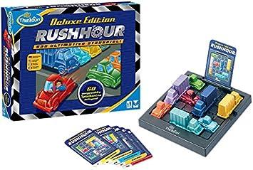 Think Fun 11212 - Rush Hour Deluxe, Juego Educativo: Amazon.es: Juguetes y juegos