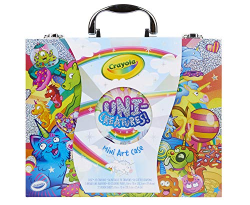 Crayola Mini Art Set with UniCreatures, Kids Art Kit, 100+ Pieces