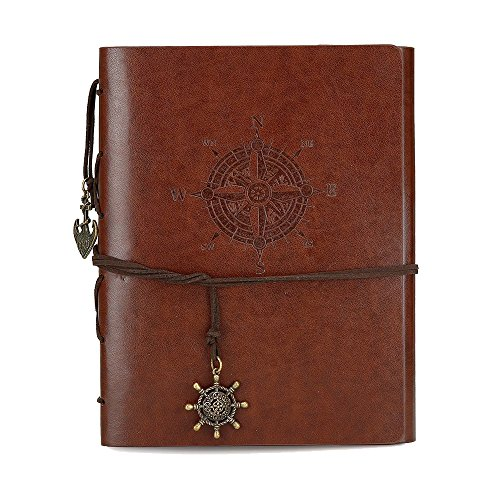 - Scrapbook Photos Albums Leather Photo Album Vintage Albums Diy Journal Diy Notebook Photo Journal Nice Looking Book for Photos Adventure Stickers Travel Theme Scrapbooking Memory Photo Book Brown S