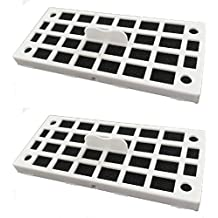 Replacement Air Deodorizer Filter Compatible GE Cafe Series Refrigerator ODORFILTER - 2 Filters