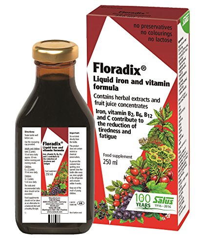 Floradix Iron & Vitamin Formula Liquid 250ml