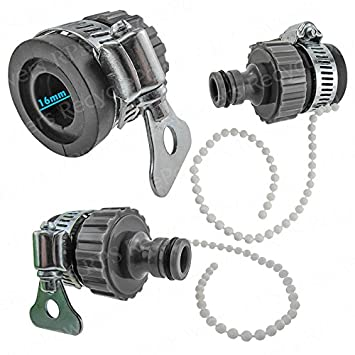 Amazon.com : Universal Quick Joint Water Hose Pipe Tap Faucet ...