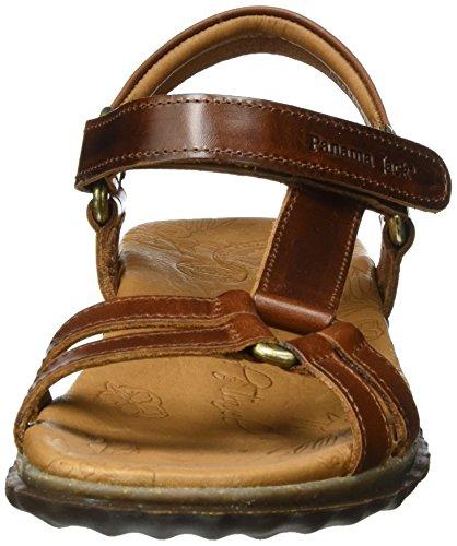 Panama Bark Jack Bout Marron Marron 37 Femme Ouvert Caribel EU Sandales Clay rr1fP6xw