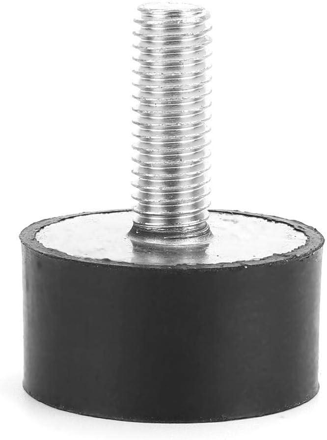 Tema 1pc M3 M4 M6 M8 Goma Amortiguador Doble Externa de Goma antivibraci/ón aislador de vibraci/ón Duradero WSF-shock absorber tama/ño : M4 15X10