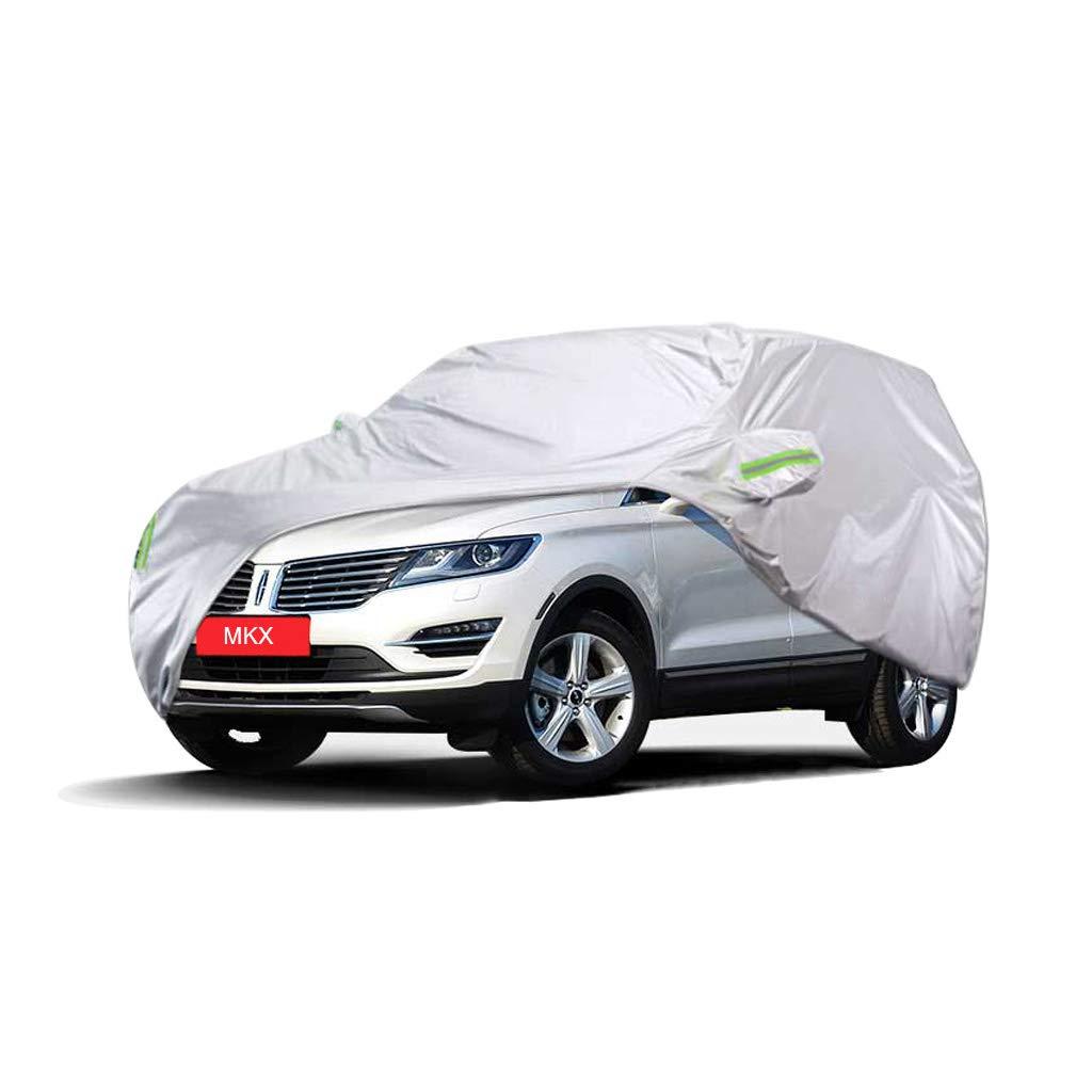 車のカバー リンカーンMKX車のカバーSUV厚いオックスフォード布日焼け防止防雨暖かいカバー車のカバー (サイズ さいず : 2017) 2017  B07MQDNY7Z