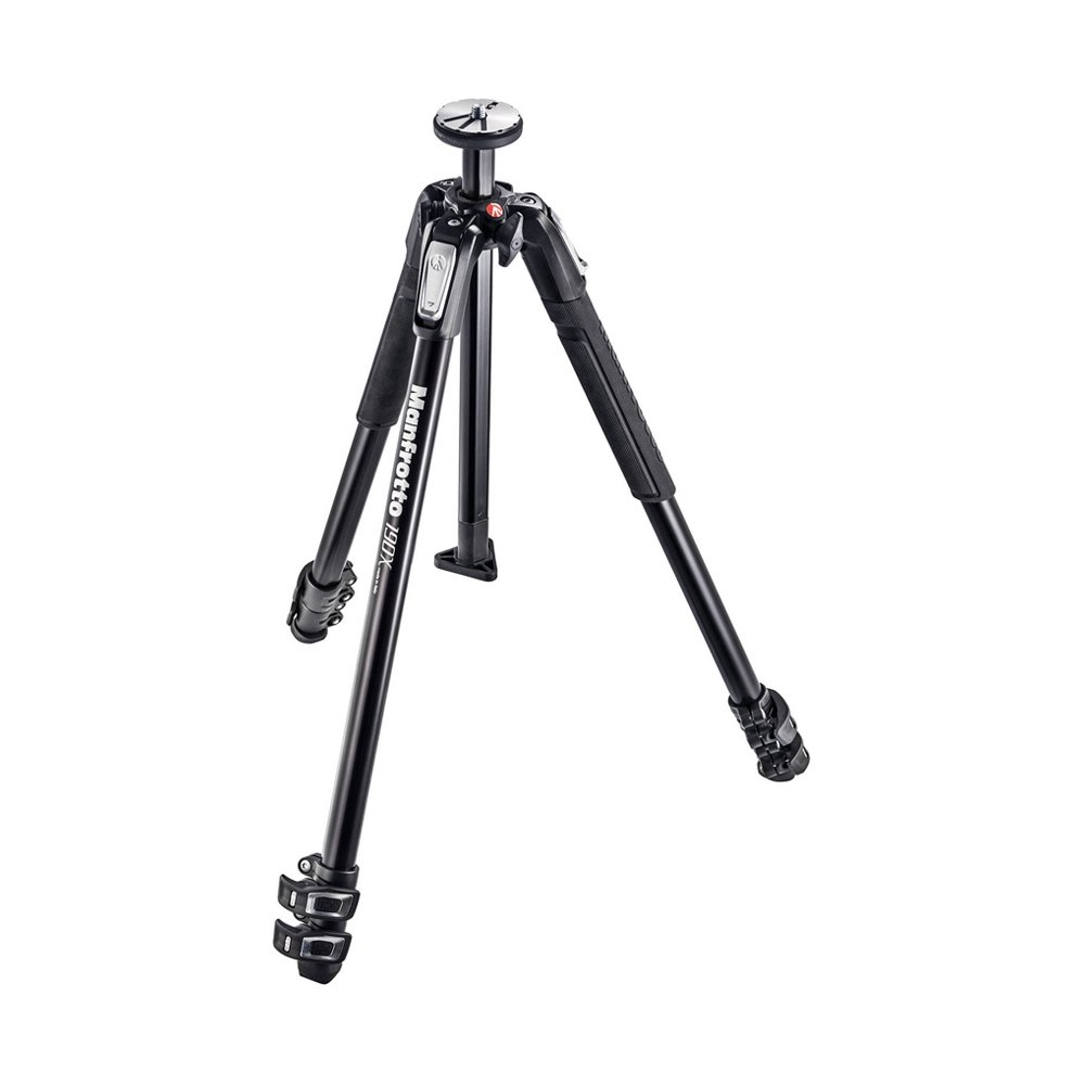 Manfrotto 190X Aluminum 3-Section Tripod (MT190X3) by Manfrotto