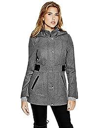 GUESS Jonina Wool-Blend Coat