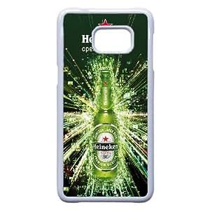 Pattern Hard Case Cover Samsung Galaxy S6 Edge Plus Cell Phone Case White Heineken Skswf Back Skin Case Shell