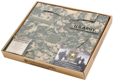 Amazon Us Army Acu Scrapbook Album