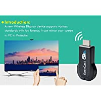 EasyCast 2.4G 5G HDMI Streaming Media Player Support Airplay Mirroring Miracast DLNA WiFi Display TV Dongle
