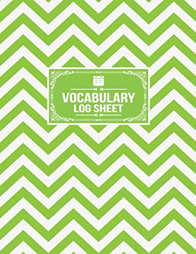 Vocabulary Log Sheet: Word Origin Translation Meaning Tracker Notebook]()