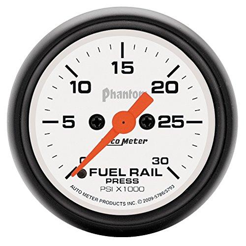 Auto Meter 5786 Phantom Fuel Rail Pressure Gauge