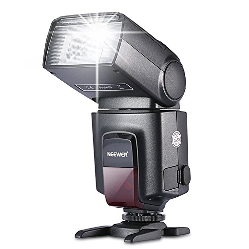 Amazon Lightning Deal 90% claimed: Neewer TT560 Flash Speedlite for Canon Nikon Sony Panasonic Olympus Fujifilm Pentax Sigma Minolta Leica and Other SLR Digital SLR Film SLR Cameras and Digital Cameras with single-contact Hot Shoe