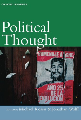 Book cover from Political Thought (Oxford Readers) by Michael Wolff