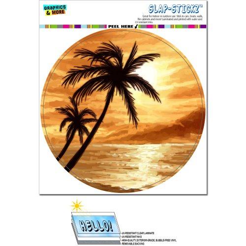 Sunset Beach Palm Tree SLAP STICKZ